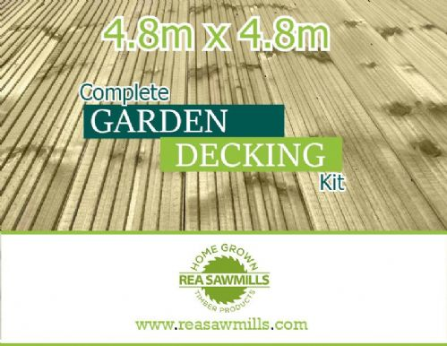 4.8m x 4.8m Decking Kit (16ft x16ft approx)